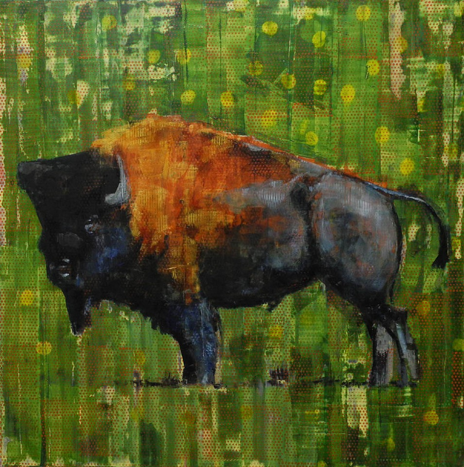 Les Thomas, Animal Painting # 015-1239 2015, Oil on Canvas