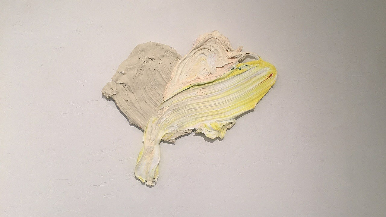 Donald Martiny, Sorothaptic Polymer and Pigment Mounted on Aluminum
