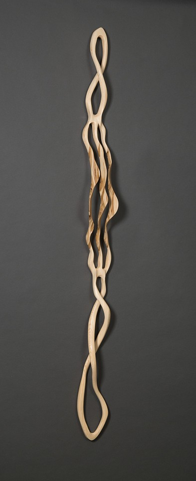 Caprice Pierucci, Small Birch Plywood Bloom 2017, Birch Plywood