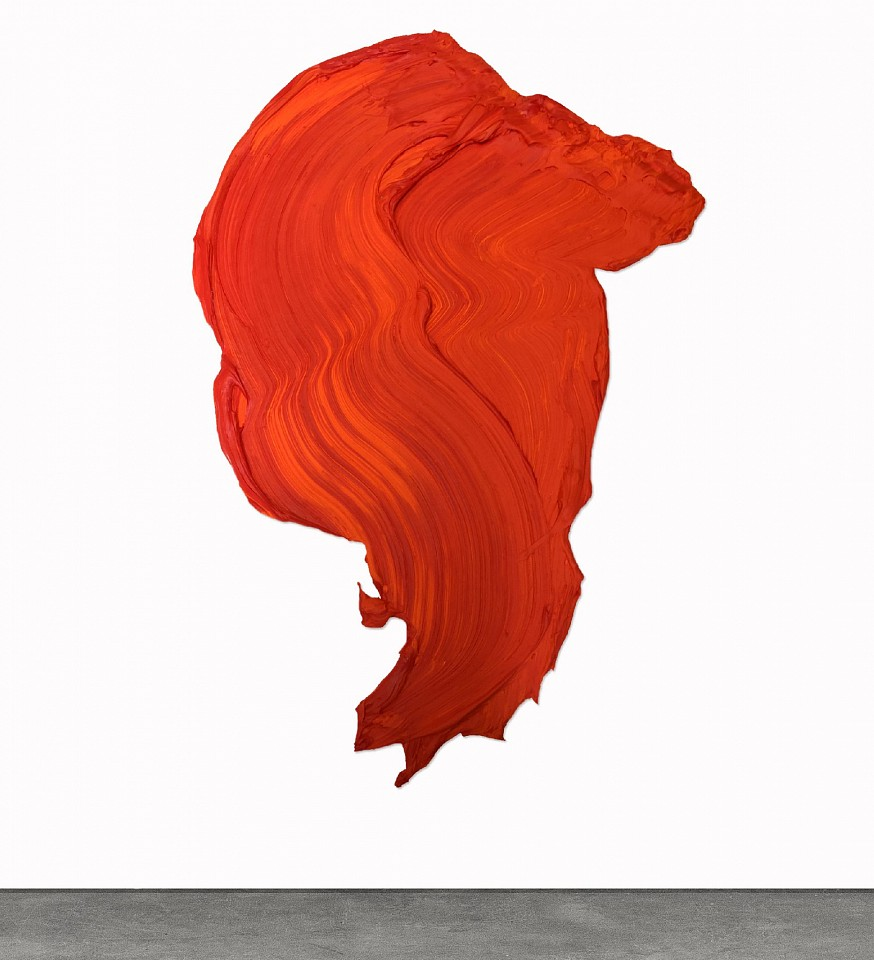 Donald Martiny, Seille Polymer and Pigment Mounted on Aluminum